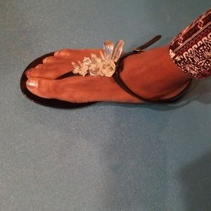 NWOT Size 9 Jelly Sandals